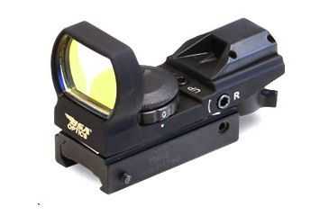 BSA Panoramic 34x24mm Illuminated Sight w/ Red, Green, & Blue Multiple Reticles PMRGBS