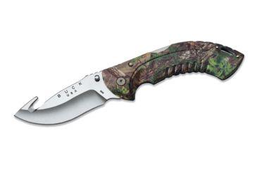 Buck Knives Folding Omni Hunter, 12 PT, Guthook, RealTree Xtra Green Camo Handle 0398CMG20
