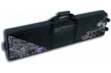 1-Bulldog Black Nylon Hard Double Gun Case with Wheels BD551