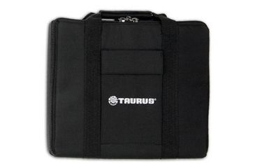 Bulldog 14In X 12In Black Nylon Hard Gun Case With Holster