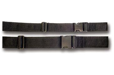 Bulldog Cases 2'' Black Web Belt WWB2