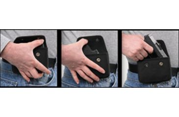 Bulldog Nylon Cell Phone Holster - draw sequence