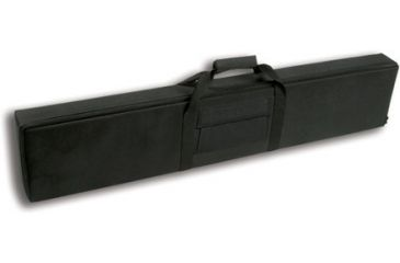 Bulldog 52'' X 9'' Black Nylon Rifle / Shotgun Case w/ Locking Zipper BD552
