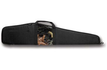 Bulldog Camo Panel Black with Camo Panel 44'' Rifle Case BD210-44