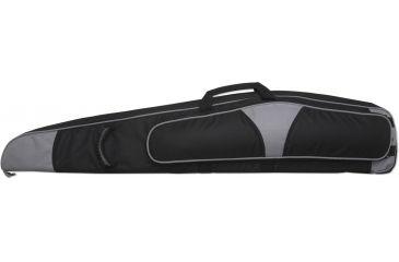 Bulldog Hybrid ''Magnum'' Rifle Case 44'' Black w/ Silver Trim BD263-44