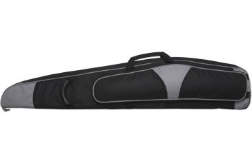 Bulldog Hybrid ''Magnum'' Rifle Case 48'' Black w/ Silver Trim BD263