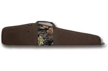 Bulldog Camo Panel Brown with Camo Panel 48'' Rifle Case BD212