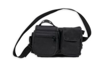 Bulldog Cases Colt Deluxe satchel inGo-bagin - blk CLT-54