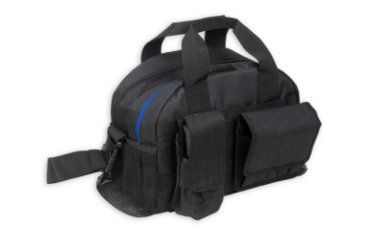 Bulldog Cases Colt Tactical range bag with Molle mag pouches and shell bags-black CLT-50