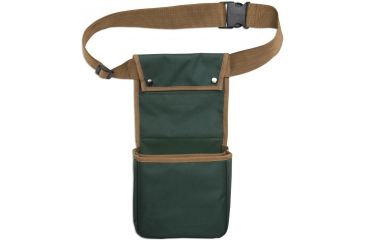 Bulldog Deluxe Green Belted Divided Shell Bag BD886