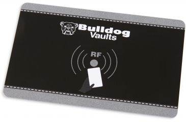 2-Bulldog Cases Digital Personal Vault w/LED and RFID