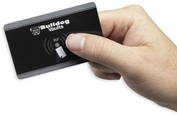 9-Bulldog Cases Digital Personal Vault w/LED and RFID