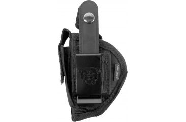 Bulldog Cases Extreme Belt Clip Ambidextrous Holster Black FSN-1