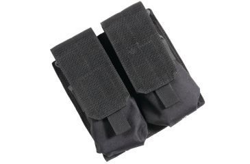 Bulldog Cases Extreme MOLLE Double Magazine Holder AR/AK Style Black