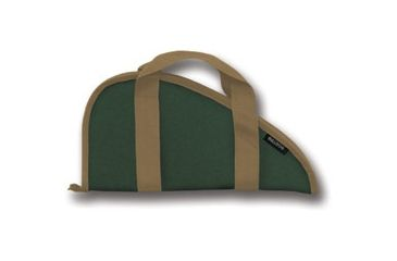 Bulldog Green Pistol Rug Small BD605