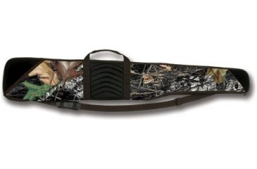 Bulldog Pinnacle 52in. Shotgun Case - RealTree Camo with Brown Trim & Black Leather BD255