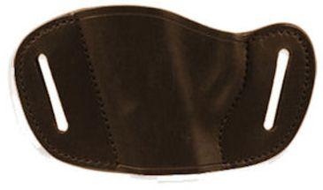 Bulldog Cases Small- left hand tan molded leather belt slide holster Fits small and mimi autos, LCP,Bersa.380,Sig 230,Walther PPK MLTL-S