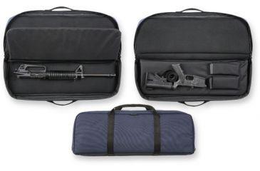 Bulldog Cases Ultra Compact Ar-15 Discreet Carry Case, 29 In. - Navy