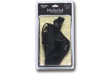 Bulldog Hybrid Ambidetrous Belt Clip Holster w/ Deluxe Packaging - Size: 3 BDH-3