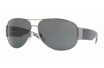 ed31e88b5efb Burberry BE 3020M Sunglasses Styles - Gunmetal Frame / Gray Lenses, 100387 -6414
