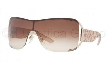 Burberry BE 3045 Sunglasses Styles Burberry Gold Frame / Brown Gradient Lenses, 100213-0128