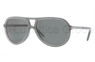 Burberry BE 4063 Sunglasses Styles Gray/Violet Frame / Gray Lenses, 309187-5814