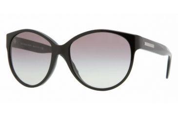 Burberry BE4088 Single Vision Prescription Sunglasses BE4088-300111-5716 - Lens Diameter 57 mm, Frame Color Black