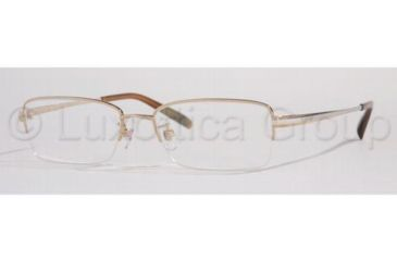 Burberry BE1033T Bifocal Prescription Eyeglasses 1017-5317 - Shiny Gold
