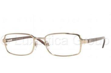 Burberry BE1052 Eyeglass Frames 1002-5018 - Burberry Gold