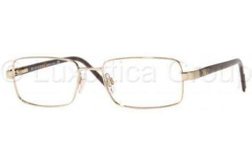 Burberry BE1077 Eyeglass Frames 1002-5217 - Burberry Gold