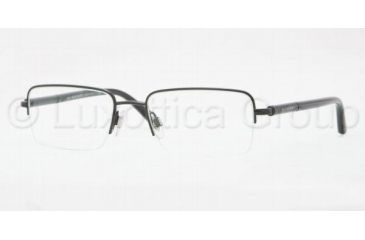 Burberry BE1196 Progressive Prescription Eyeglasses 1001-5218 - Shiny Black Frame