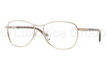 Burberry BE1212 Single Vision Prescription Eyeglasses 1011-5315 - Copper Frame