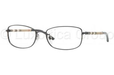 Burberry BE1221 Eyeglass Frames 1001-5217 - Black Frame