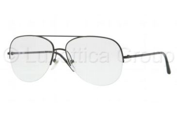 Burberry BE1226 Eyeglass Frames 1007-5515 - Matte Black Frame