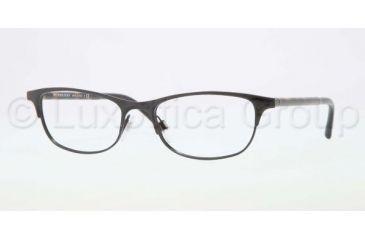 Burberry BE1249 Eyeglass Frames 1001-5117 - Black Frame