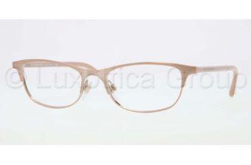 Burberry BE1249 Eyeglass Frames 1174-5117 - Rose Gold Frame