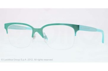 Burberry BE1253 Bifocal Prescription Eyeglasses 1179-52 - Turquise Frame, Demo Lens Lenses