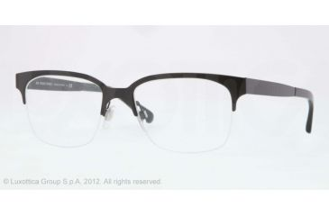 Burberry BE1253 Bifocal Prescription Eyeglasses 1180-52 - Black Frame, Demo Lens Lenses