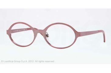 Burberry BE1254 Single Vision Prescription Eyeglasses 1186-50 - Bordeaux Frame, Demo Lens Lenses