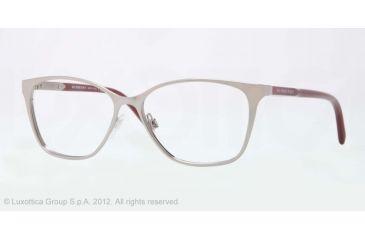 Burberry BE1255 Eyeglass Frames 1006-53 - Gray Frame, Demo Lens Lenses