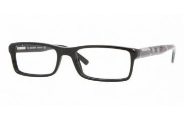 Burberry BE2085 #3001 - Shiny Black Frame, Demo Lens Lenses