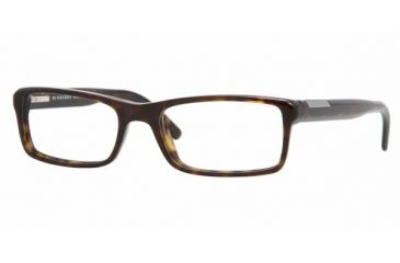 Burberry BE2085 #3002 - Havana Frame, Demo Lens Lenses