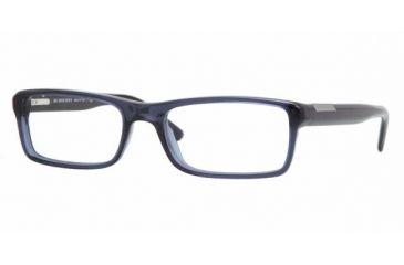 Burberry BE2085 #3225 - Transparent Azure Frame, Demo Lens Lenses