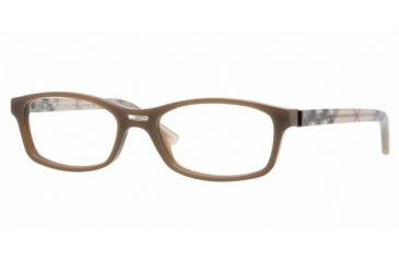 Burberry BE2087 #3237 - Brown Hazelnut Demo Lens Frame