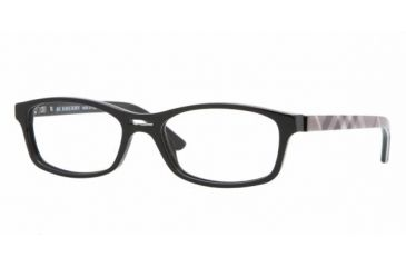 Burberry BE2087 #3240 - Black Demo Lens Frame