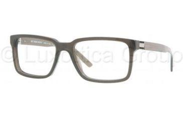 Burberry BE2090 Progressive Prescription Eyeglasses 3227-5517 - Striped Gray