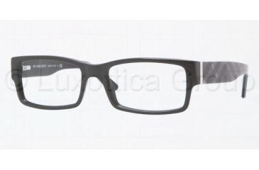 Burberry BE2091 Bifocal Prescription Eyeglasses 3001-5217 - Shiny Black