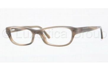 Burberry BE2096 Eyeglass Frames 3226-5117 - Striped Horn