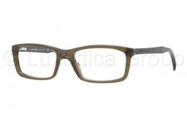 Burberry BE2117 Bifocal Prescription Eyeglasses 3336-5318 - Olive Green Frame