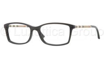 Burberry BE2120 Eyeglass Frames 3001-5316 - Shiny Black Frame